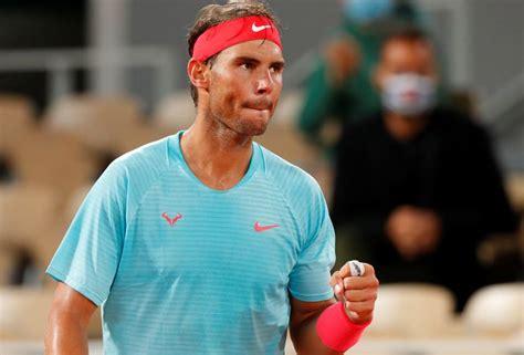 Rafael Nadal en mode rouleau compresseur: 6-1, 6-4, 6-0 ...
