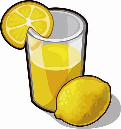 Lemon Juice Clipart Drink Lemonade Clip Transparent