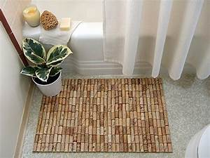 7 bath mat ideas to make your bathroom feel more like a spa With bathroom cork mat