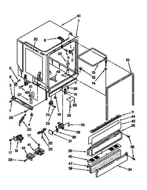kenmore  dishwasher partswarehouse