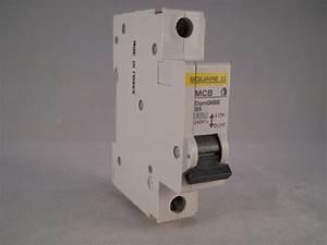 Square D Mcb 6 Amp Single Pole Circuit Breaker B6 Type B