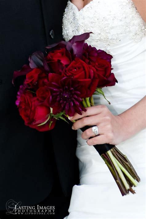 red  deep purple bridal bouquet lasting images