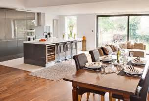 kitchen and family room ideas getting creative the open plan kitchen dinner buyers