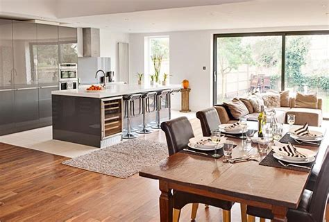 kitchen family room ideas getting creative the open plan kitchen dinner buyers