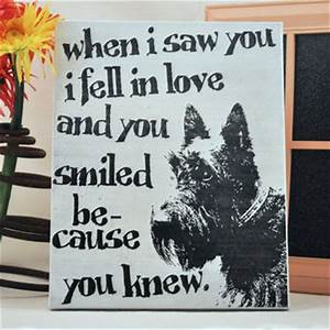 best irish wall decor products on wanelo With kitchen cabinets lowes with scottish terrier stickers