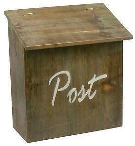 postkasten aus holz briefkasten holz jetzt bei ebay entdecken ebay