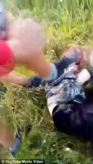 Shocking Video Shows Teen Lynch Mob Beat Russian