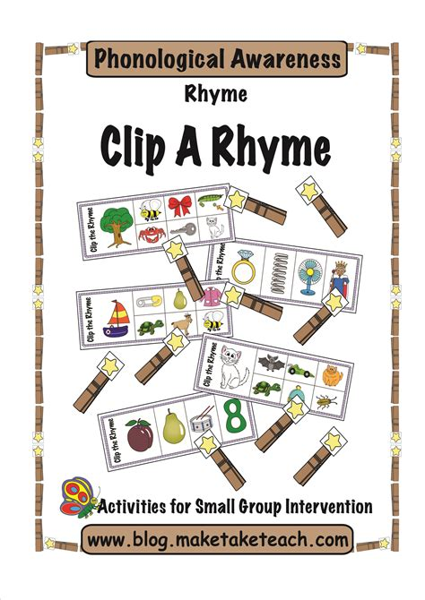 diy rhyme magnets make take amp teach 389 | Clip It Rhymeprepg1