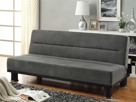 Homelegance Callie Click Clack Sofa Bed Graphite Grey