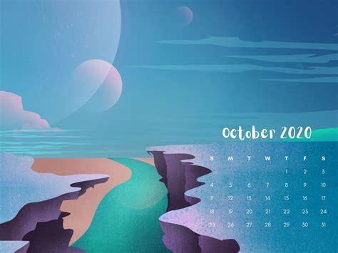October 2020 Calendar HD Wallpapers Free Download ...