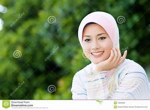 Pretty Muslim Girl Royalty Free Stock Photos - Image: 13829608