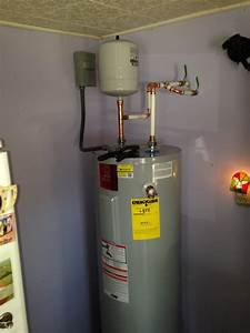Hot Water Heater Installation With Thermal Expansion Tank