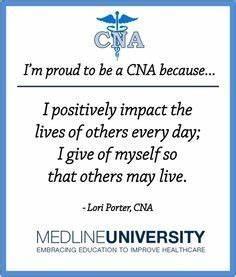 Cna Resume Cna Appreciation Quotes Quotesgram