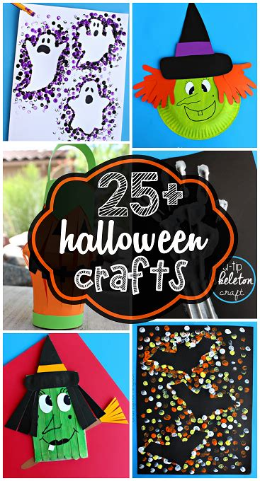 Creative Halloween Crafts For Kids To Make  Crafty Morning