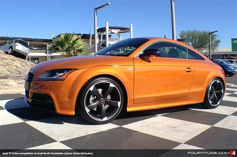 Audi Scottsdale by In Market Samoa Orange Audi Tt S Line Competition At Audi