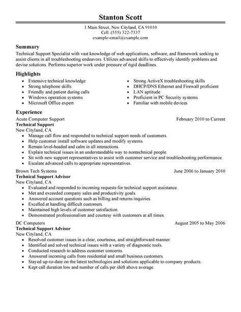 best installation repair customer service advisor resume