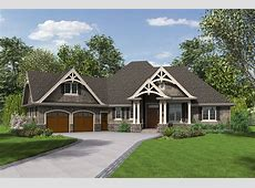 Craftsman Style House Plan 3 Beds 25 Baths 2233 SqFt