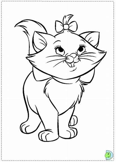 Coloring Marie Cat Colorir Dinokids Desenhos Desenho