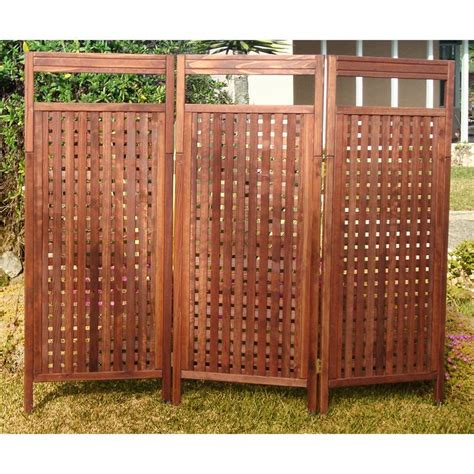 lattice privacy screen best redwood lattice outdoor privacy screen www