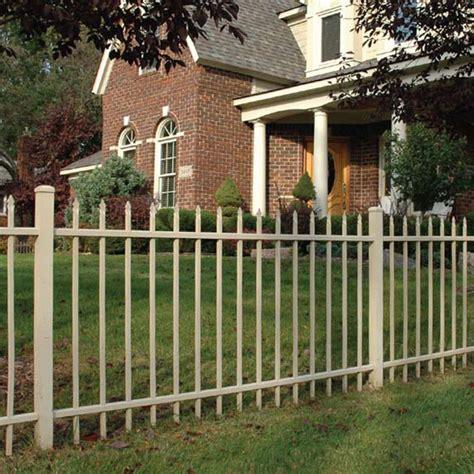 durable fencing aluminum fence installation durable sleek fencing kmg fence