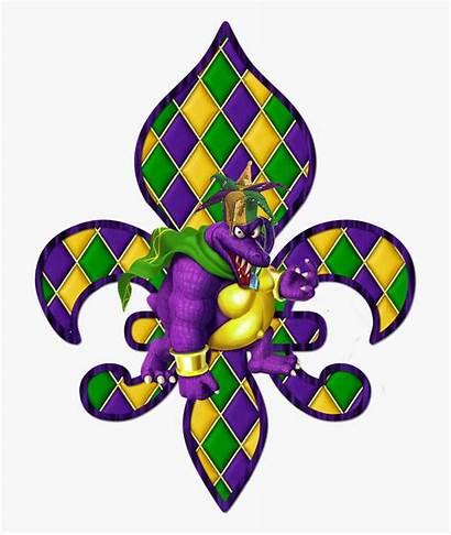 Gras Mardi Clipart King Orleans Cake Louisiana