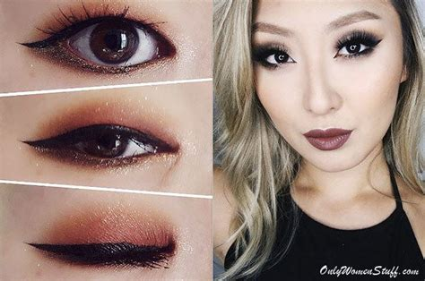 easy monolid eye makeup tips ideas  pictures