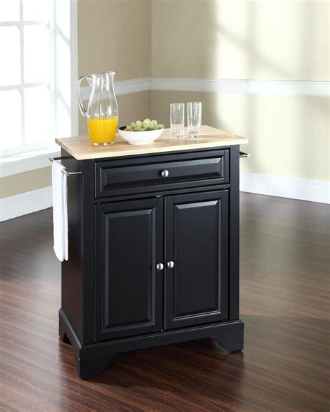 portable island kitchen crosley lafayette portable kitchen island by oj commerce kf30021bbk 265 00