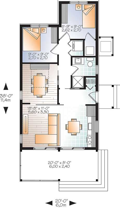 mountain rustic house plan  bedrooms  bath  sq ft