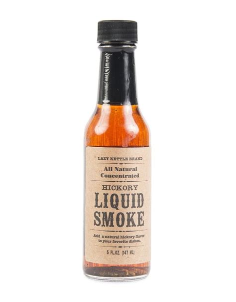 what is liquid smoke lazy kettle hickory liquid smoke 147ml woolworths co za