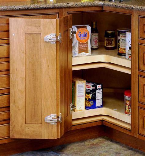 Upper Corner Kitchen Cabinet Storage Solutions Lazy Susan