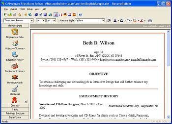 resume software to help you win your dream vagueware com