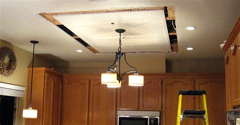 replacingupdating fluorescent ceiling box lights