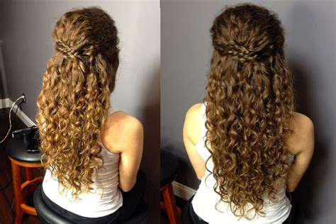 related  naturally curly hair prom hairstyles