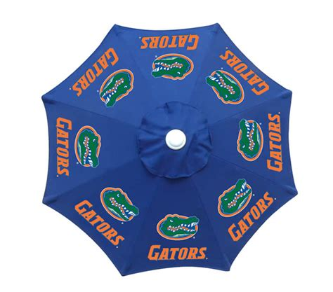 collegiate patio tailgate umbrellas college logo