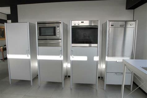 bulthaup system 20 kitchen appliance cabinets with miele appliances in winchester hshire