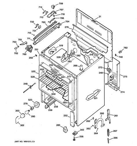 general electric jbp56gr1wh electric range timer stove