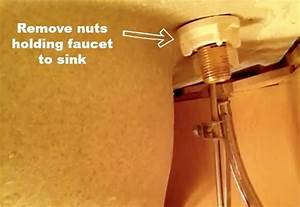Change water faucet earl dutton for How to change a bathroom sink faucet