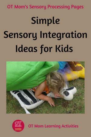 sensory integration activities  kids