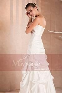Robe Demoiselle D Honneur Bleu : robe demoiselle d 39 honneur noeud blanc ~ Melissatoandfro.com Idées de Décoration