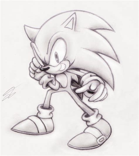 drawings  pencil  cartoon people sonic pencil art