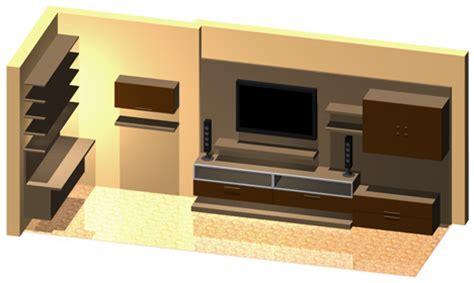 dwg libreria pareti attrezzate 3d mobili per soggiorno dwg