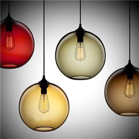 2 x modern glass ceiling light shade pendant l