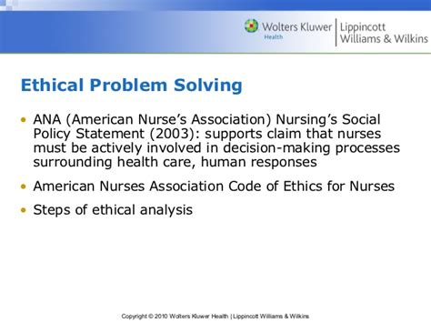 critical thinking ethical decision and the nursing