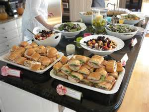 wedding shower food bridal shower food ideas