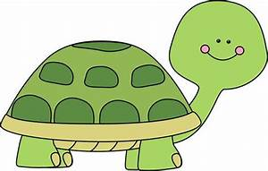 Cute Baby Turtle Clipart - ClipartXtras