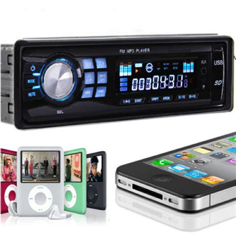 Usb Car Stereo car stereo audio in dash fm aux input receiver with tf usb