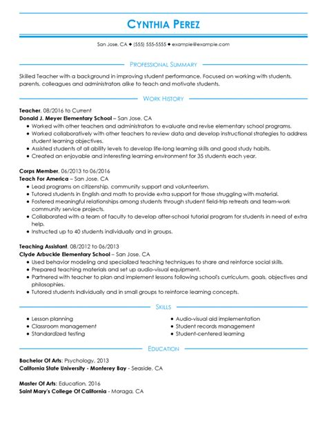 Resume Format by The 3 Resume Formats A Guide On Which Format To Use When