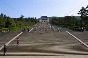 Up Mountain Stairs China