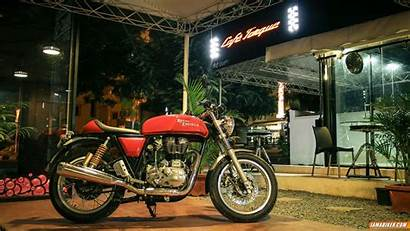 Enfield Royal Continental Gt Wallpapers Cafe Racer