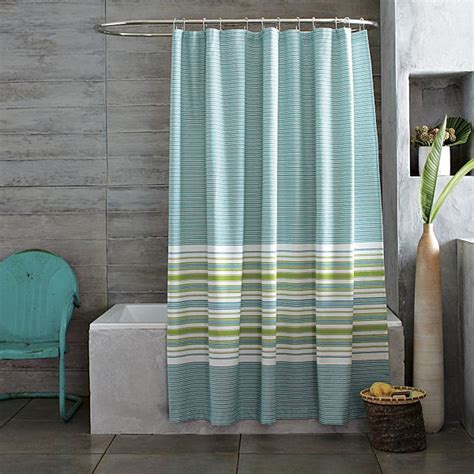 green and blue shower curtain stunning summer bed and bath decor